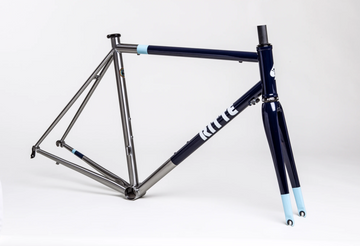 Ritte The Snob Stainless Steel Frameset - Navy - SpinWarriors