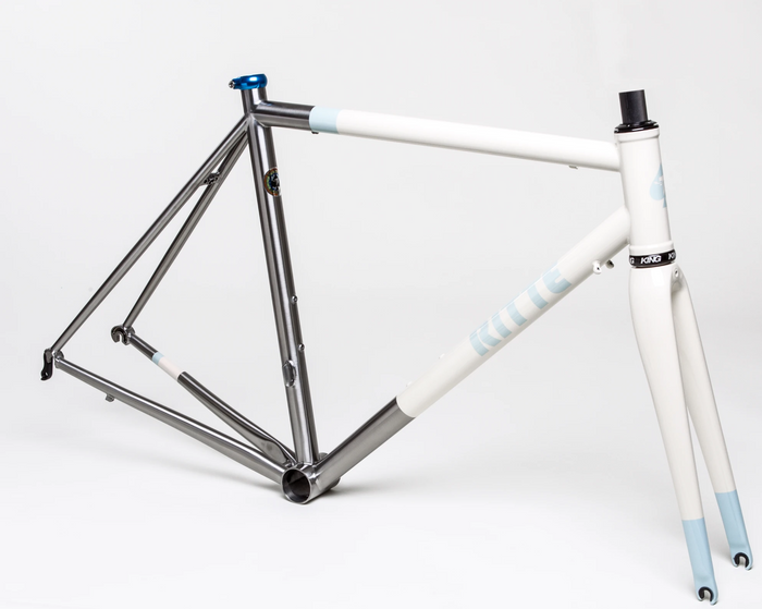 Ritte The Snob Stainless Steel Frameset - Cream