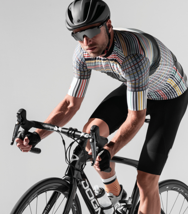 Dotout Flash Jersey - White Multicolor