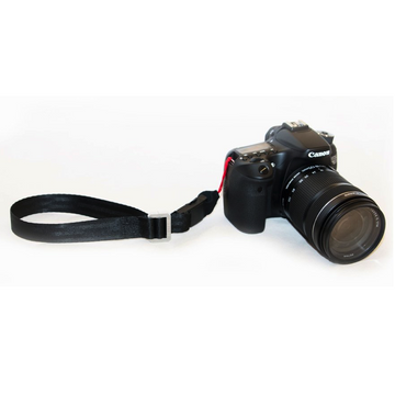 Restrap Shoot Mini Camera Wrist Strap - Black - SpinWarriors