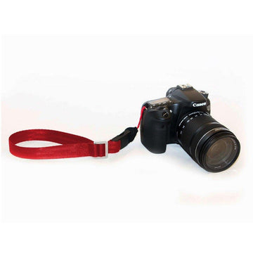 Restrap Shoot Mini Camera Wrist Strap - Red - SpinWarriors