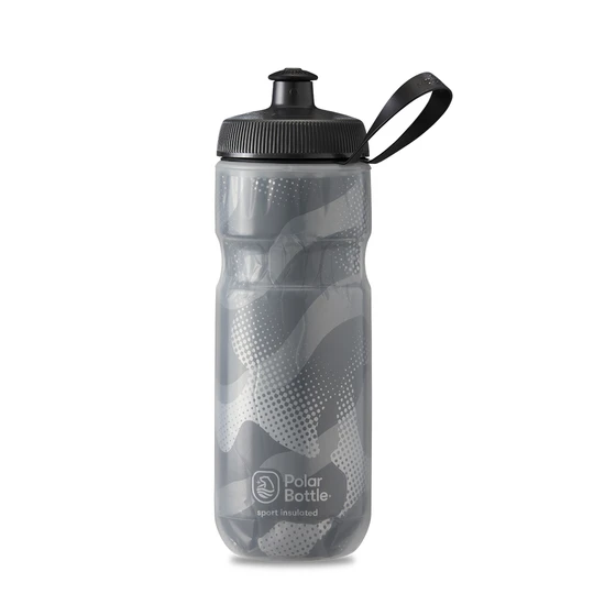 Polar Bottle Sport Insulated 20 oz - Contender Charcoal/Silver