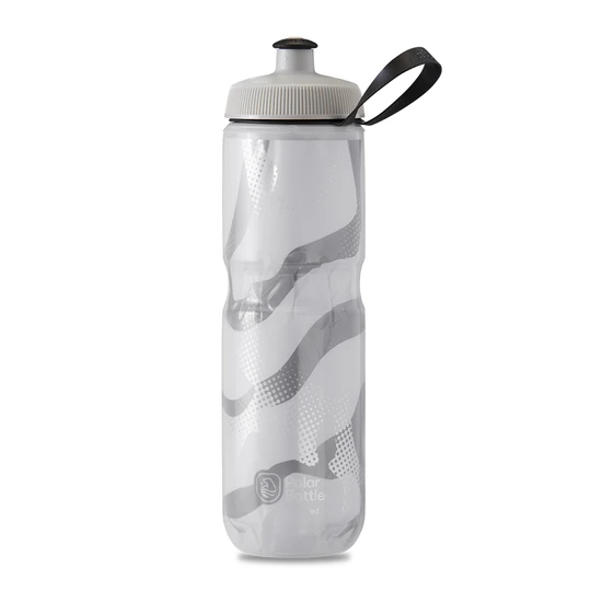 Polar Bottle Sport Insulated 24 oz - Contender White/Silver