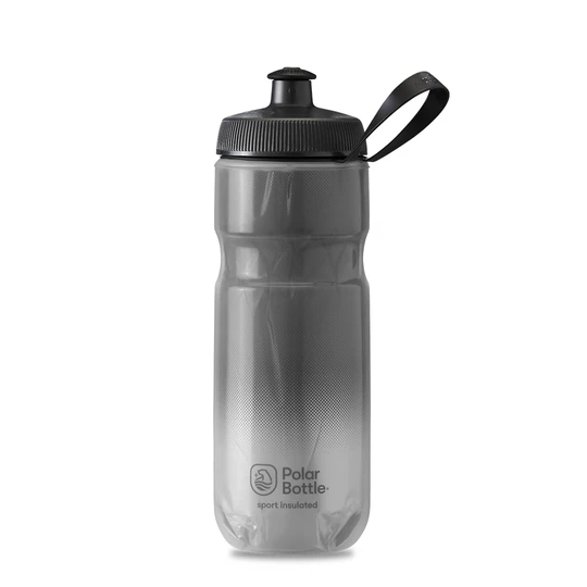 Polar Bottle Sport Insulated 20 oz - Fade Charcoal/Silver
