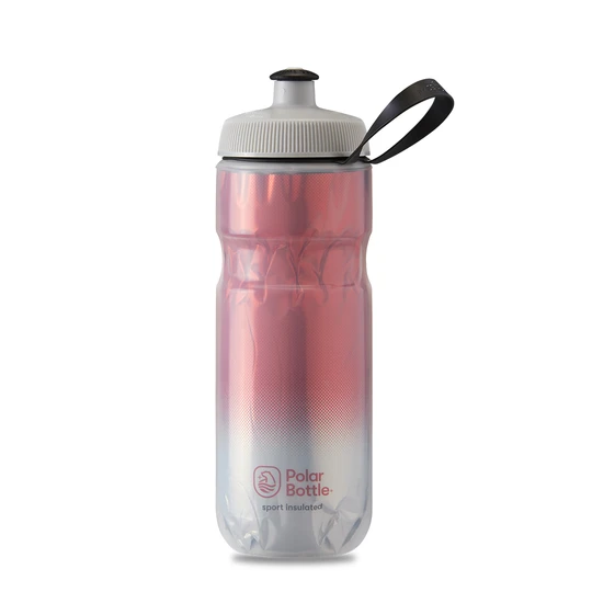 Polar Bottle Sport Insulated 20 oz - Fade Red/Silver