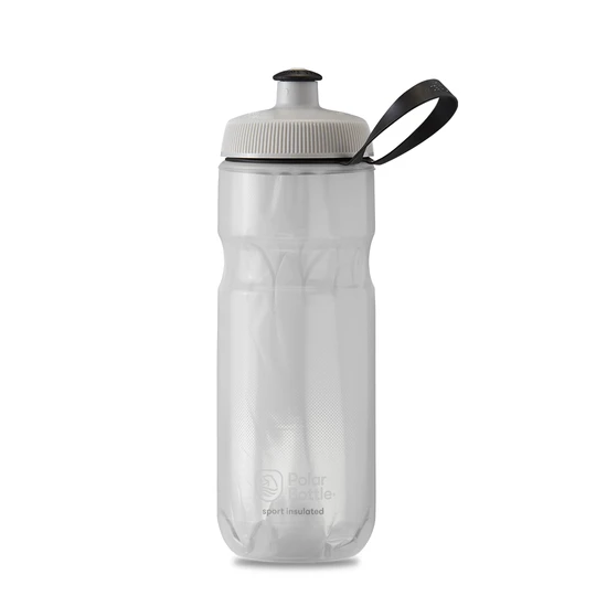 Polar Bottle Sport Insulated 20 oz - Fade White/Silver