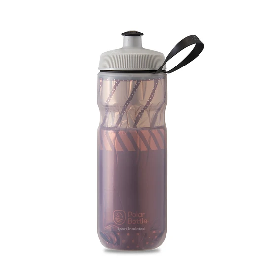 Polar Bottle Sport Insulated 20 oz - Tempo Burgundy/Coral