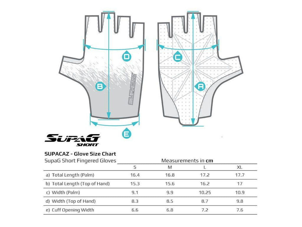 Supacaz SupaG Short Gloves - Twisted Neon Blue