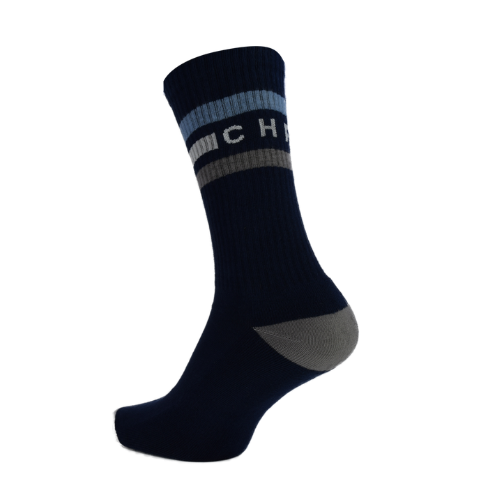 CHPT3 Tube Socks - Navy/Air Force Blue