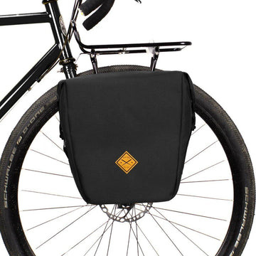 Restrap Small Pannier - Black - SpinWarriors