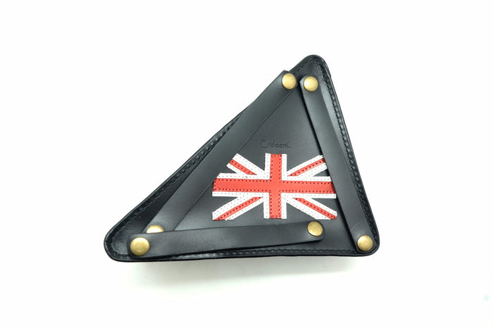 Erdeeni Moulton Triangle Bag - Black