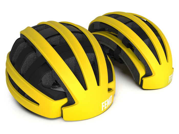 FEND One Foldable Helmet - Matte Yellow
