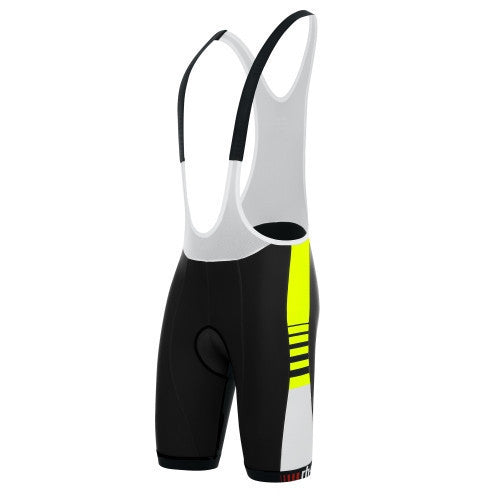Zero rh+ Legend Bibshort - Black/Acid Yellow
