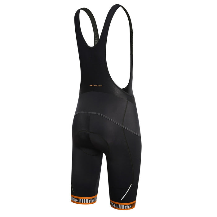 Zero rh+ Academy Bibshort - Black/Dark Orange