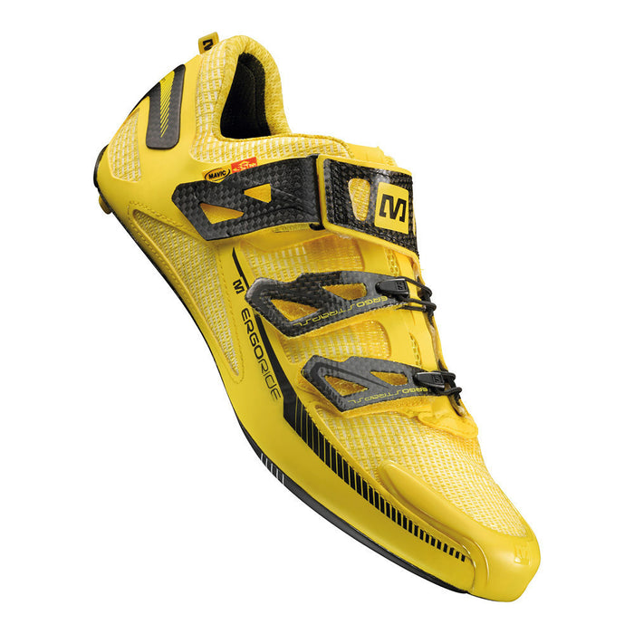 Mavic Huez Road Shoes - Yellow