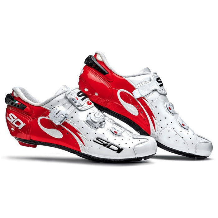 Sidi Wire Carbon Road Shoes - Red/White