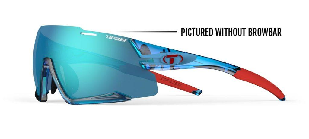Tifosi Aethon Crystal Blue Sunglasses - 3 Lenses: Clarion Blue/AC Red/Clear