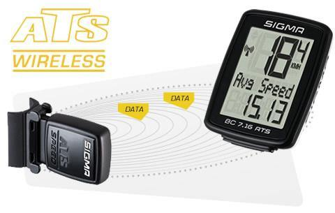 Sigma BC 9.16 ATS Wireless Cycling Computer