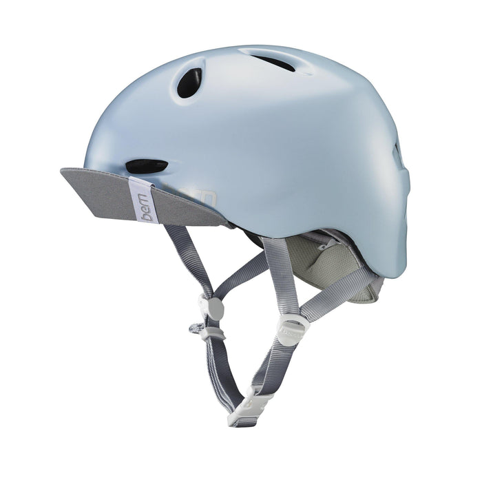 Bern Berkeley Helmet - Satin Sky Blue