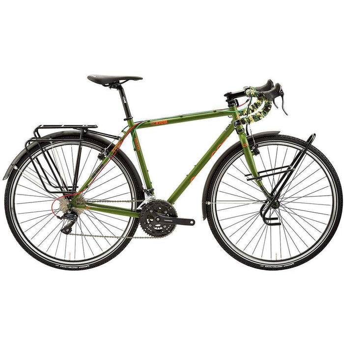 Cinelli Hobootleg Travel Expedition Bike - Green Monkey