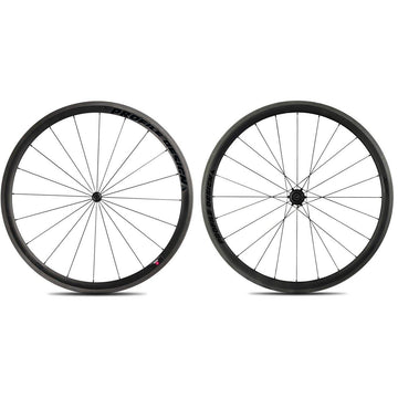 Profile Design 38/TwentyFour Carbon Clincher Wheelset - Black Decal - SpinWarriors