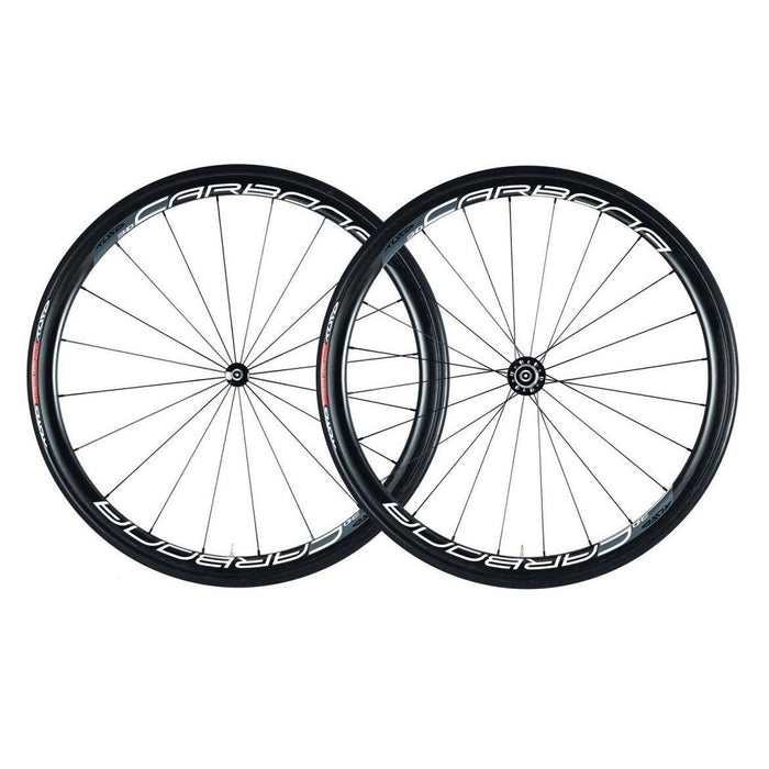 Tufo Carbona 30 Tubular Wheelset (Free Tufo Tubular Tires) - Black/Grey