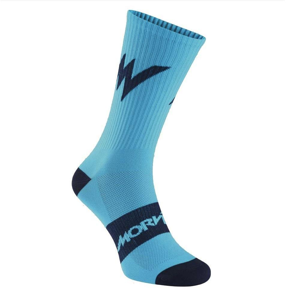 Morvelo Series Emblem Blue Socks