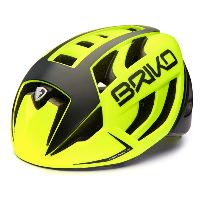 Briko Ventus Road Helmet - Yellow/Black