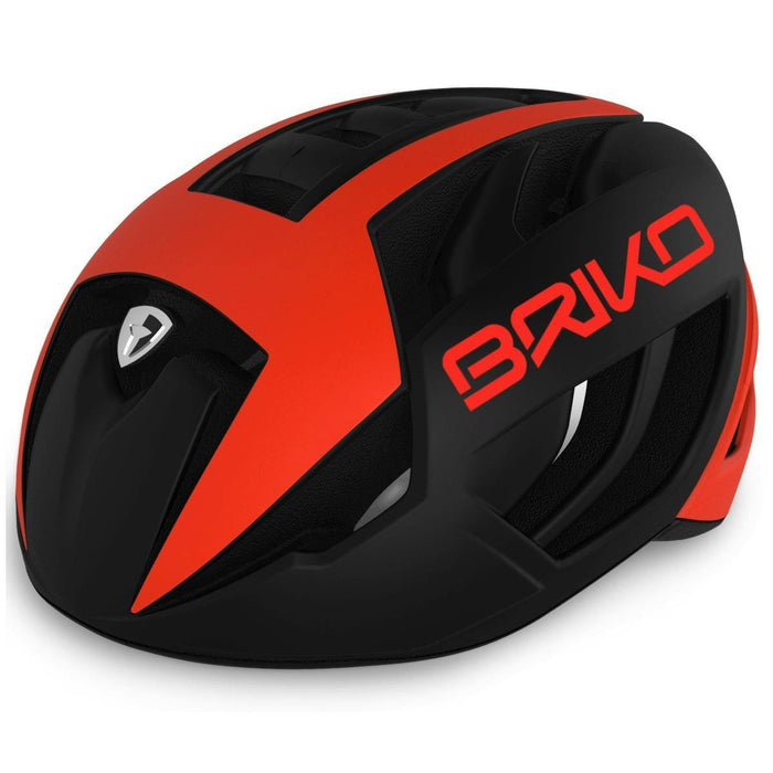 Briko Ventus Road Helmet - Black/Orange