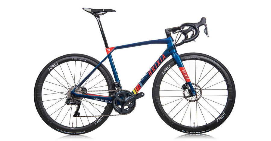 Brixia Cidneo Carbon Road Disc Frameset - Metallic Blue