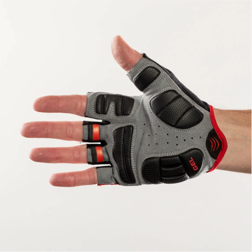 Bellwether Ergo Gel Glove - Ferrari Red