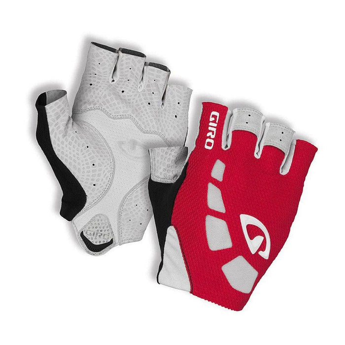 Giro Zero Gloves - Red/White