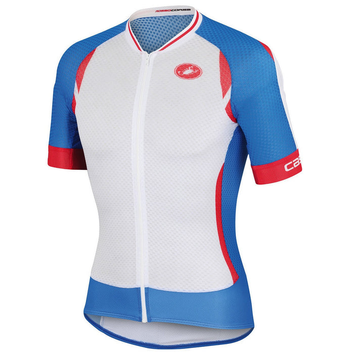 Castelli Climber's 2.0 Jersey - White/Blue/Red