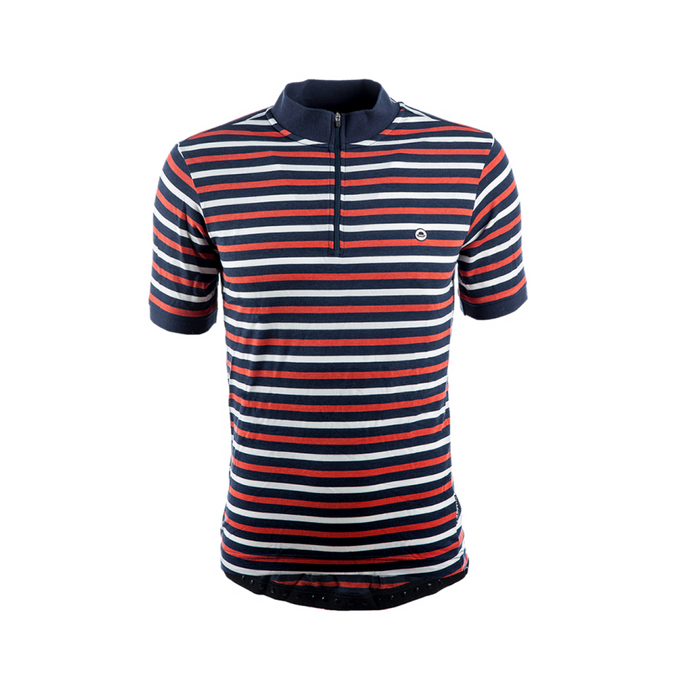 Chapeau! Cafe Jersey - Blue Multi Stripe