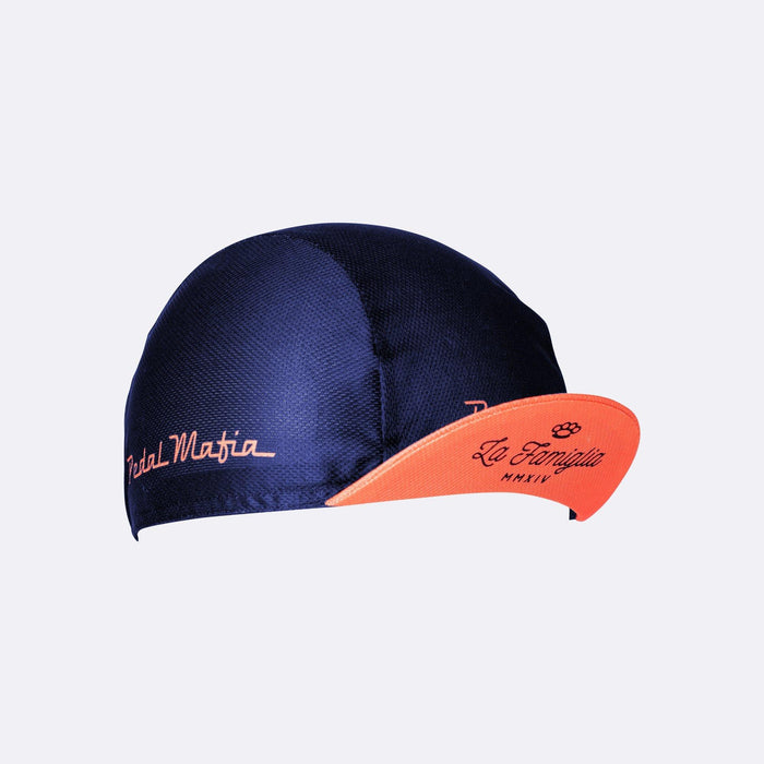 Pedal Mafia Cycling Cap - Navy/Red