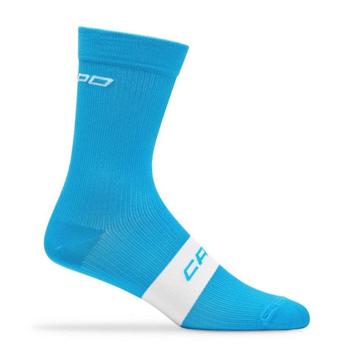 Capo Active Compression 15cm Sock - Cyan