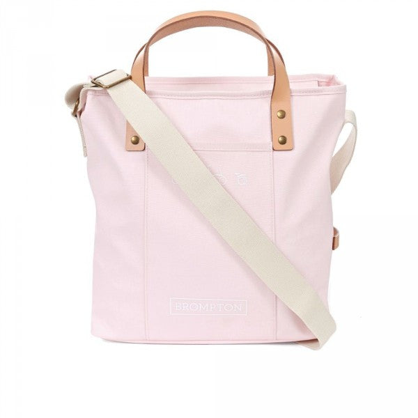 Brompton Tote Bag Zip Top - Cherry Blossom