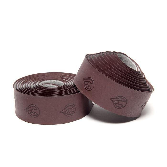 Cinelli Vegan Eco-Leather Ribbon Bar Tape - Brown