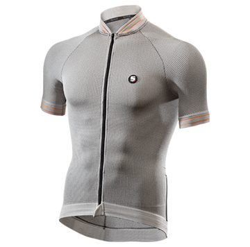 SIX2 Clima Jersey - Grey/Mouline - SpinWarriors