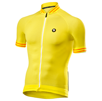 SIX2 Clima Jersey - Yellow/White - SpinWarriors