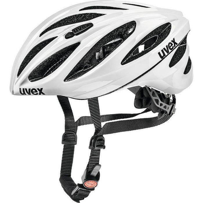 uvex boss race Helmet - White