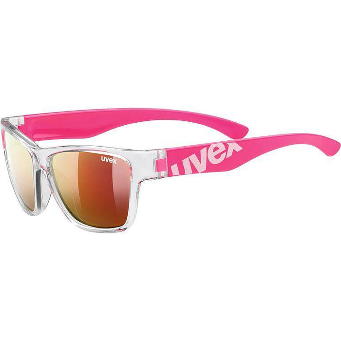 uvex sportstyle 508 Sunglasses - Clear Pink/Mirror Red