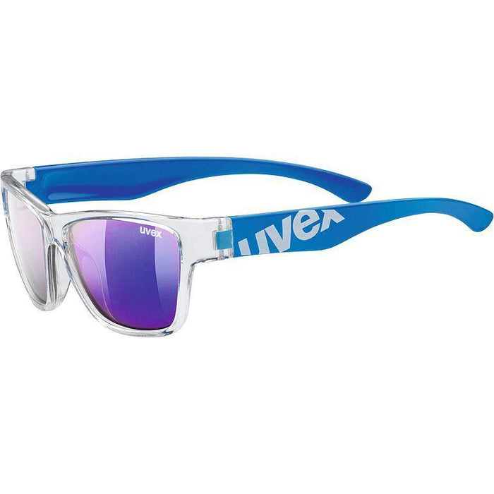 uvex sportstyle 508 Sunglasses - Clear Blue/Mirror Blue