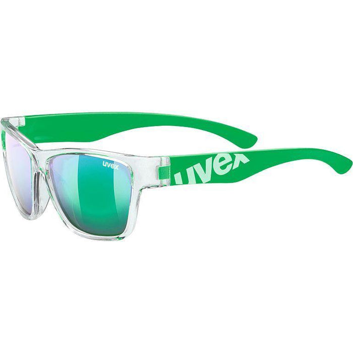 uvex sportstyle 508 Sunglasses - Clear Green/Mirror Green
