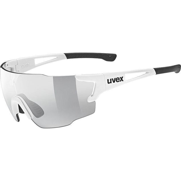 uvex sportstyle 804 V Sunglasses - White/Smoke