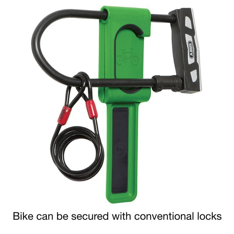 Cycloc Endo Wall Bike Rack - Green