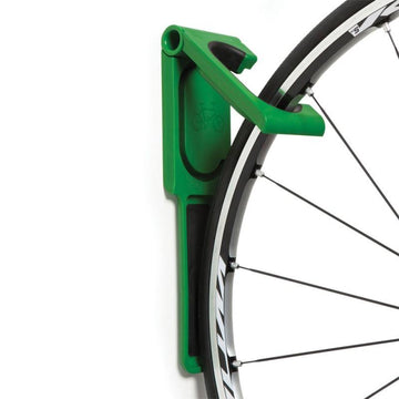 Cycloc Endo Wall Bike Rack - Green - SpinWarriors