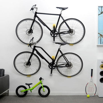 Cycloc Hero Bike Wall Rack - Yellow - SpinWarriors