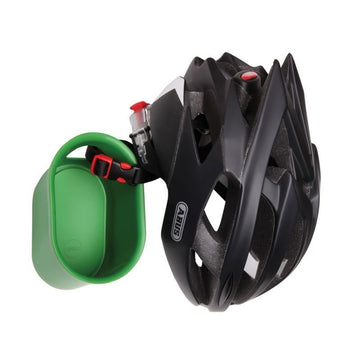 Cycloc Loop Helmet & Accessory Wall Storage - Green - SpinWarriors