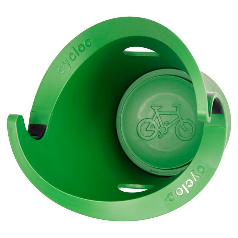 Cycloc Solo Bike Wall Rack - Green